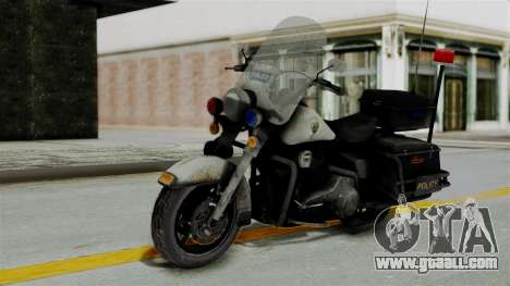 Police Bike from RE ORC for GTA San Andreas