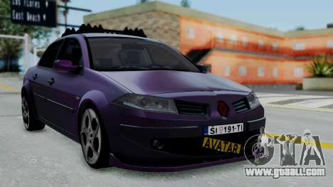 Renault Megane II for GTA San Andreas