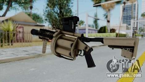 Arma OA Grenade Launcher for GTA San Andreas second screenshot