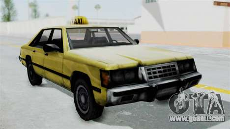 Taxi from GTA Vice City for GTA San Andreas back left view