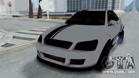GTA 5 Karin Sultan RS Stock PJ for GTA San Andreas side view