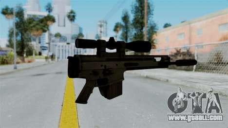 SCAR-20 v1 Folded for GTA San Andreas second screenshot