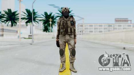 Crysis 2 US Soldier 7 Bodygroup A for GTA San Andreas second screenshot