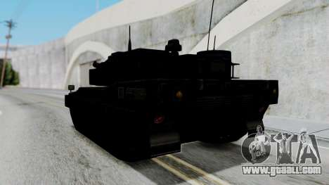 Point Blank Black Panther Woodland for GTA San Andreas right view