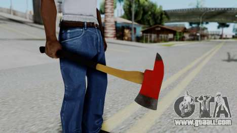 No More Room in Hell - Fire Axe for GTA San Andreas