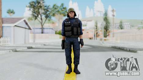 GIGN 2 No Mask from CSO2 for GTA San Andreas second screenshot