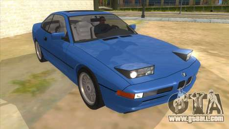 BMW 850i E31 for GTA San Andreas back view