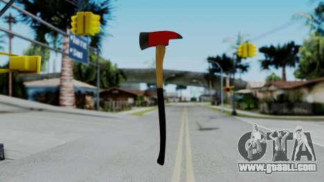 No More Room in Hell - Fire Axe for GTA San Andreas third screenshot