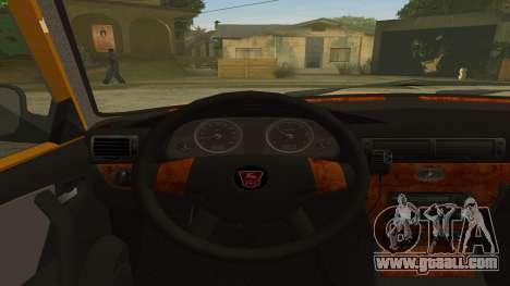 GAZ 31105 Volga Taxi IVF for GTA San Andreas right view