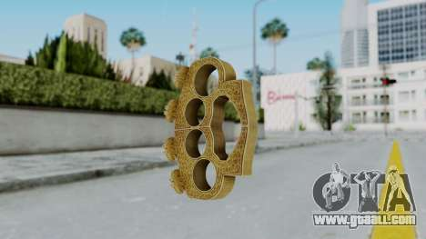 The Hater Knuckle Dusters from Ill GG Part 2 for GTA San Andreas second screenshot