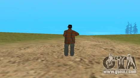 Skin FAM3 for GTA San Andreas second screenshot