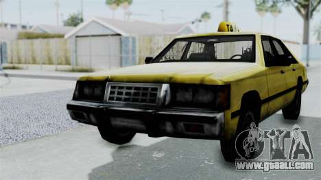 Taxi from GTA Vice City for GTA San Andreas