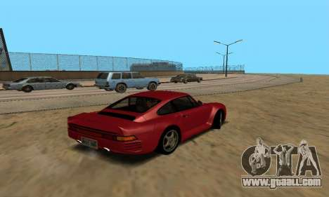 Porsche 959 for GTA San Andreas left view