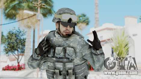 Acu Soldier 1 for GTA San Andreas