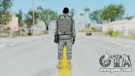 Acu Soldier 6 for GTA San Andreas third screenshot