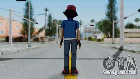 Pokémon XY Series - Ash for GTA San Andreas third screenshot
