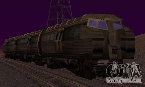 Batman Begins Monorail Train v1 for GTA San Andreas