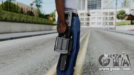 GTA 5 Grenade Launcher - Misterix 4 Weapons for GTA San Andreas third screenshot