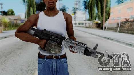 GTA 5 Combat MG - Misterix 4 Weapons for GTA San Andreas third screenshot