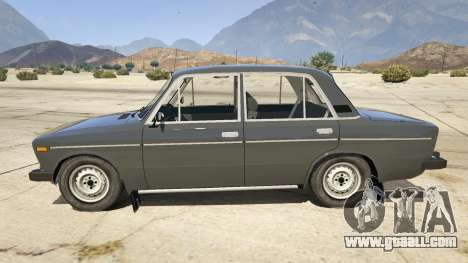 GTA 5 VAZ 2106 left side view