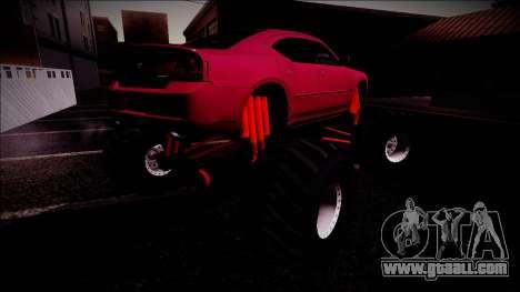 2006 Dodge Charger SRT8 Monster Truck for GTA San Andreas wheels