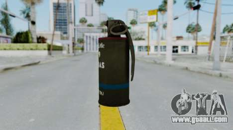 GTA 5 Tear Gas for GTA San Andreas second screenshot