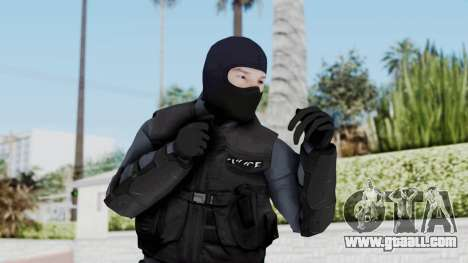 GTA 5 S.W.A.T. Police for GTA San Andreas