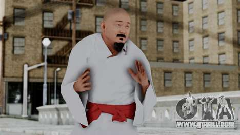 WWE Mr Fuji for GTA San Andreas