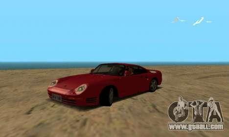 Porsche 959 for GTA San Andreas