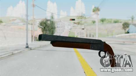 Double Barrel Shotgun from Lowriders CC for GTA San Andreas