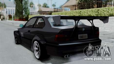 BMW M3 E36 Widebody for GTA San Andreas left view