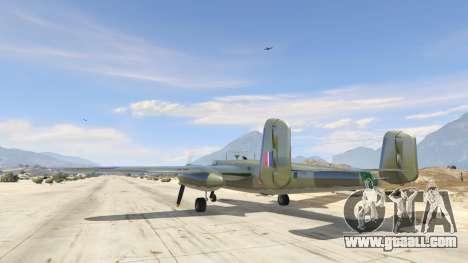 GTA 5 B-25 third screenshot