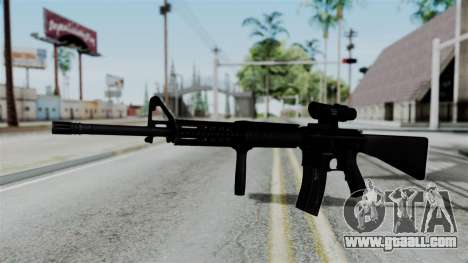 No More Room in Hell - M16A4 ACOG for GTA San Andreas second screenshot