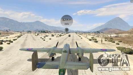 GTA 5 B-25 sixth screenshot