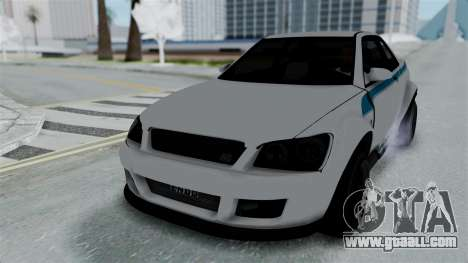 GTA 5 Karin Sultan RS Stock PJ for GTA San Andreas engine