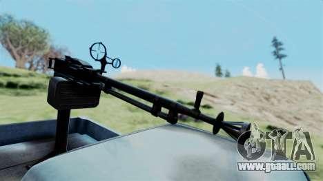 GTA 5 Karin Technical Machinegun IVF for GTA San Andreas right view