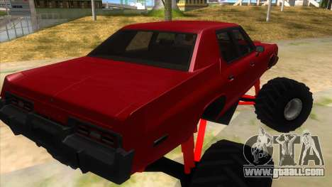 1974 Dodge Monaco Monster Truck for GTA San Andreas right view