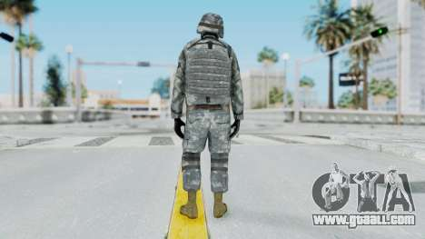 Acu Soldier Balaclava v4 for GTA San Andreas third screenshot