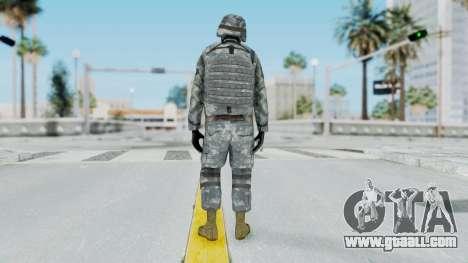 Acu Soldier Balaclava v4 for GTA San Andreas third screenshot