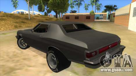 Ford Gran Torino Drag for GTA San Andreas back left view