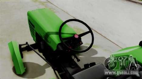Torpedo Traktor for GTA San Andreas back left view
