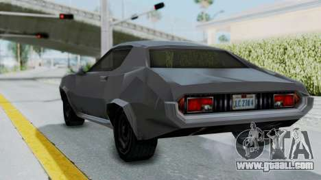GTA LCS Hellenbach GT for GTA San Andreas right view
