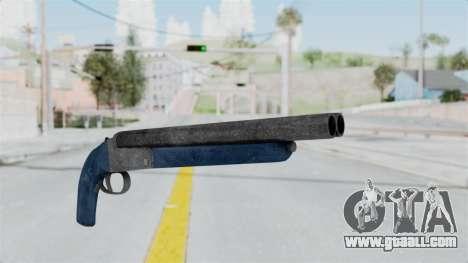 Double Barrel Shotgun LSPD Tint (Lowriders CC) for GTA San Andreas