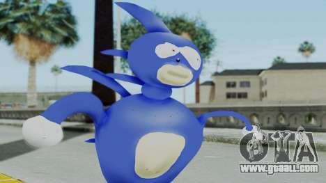 Sanic Hegehog for GTA San Andreas