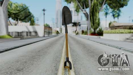 No More Room in Hell - Shovel for GTA San Andreas second screenshot