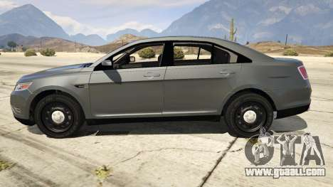 GTA 5 Ford Taurus left side view