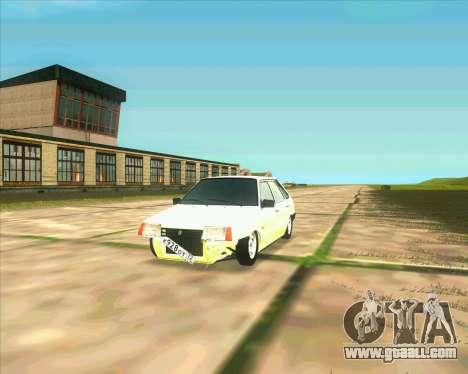 VAZ 2109 BUNKER for GTA San Andreas