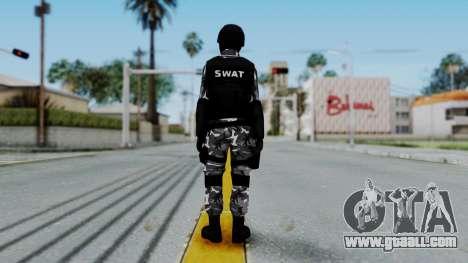 S.W.A.T v1 for GTA San Andreas third screenshot