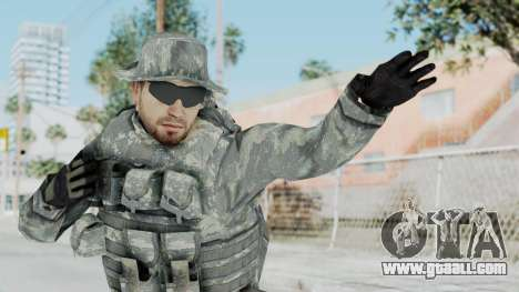 Acu Soldier 7 for GTA San Andreas
