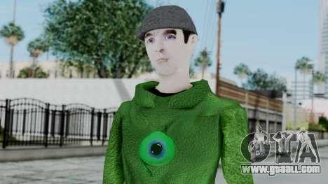 Jacksepticeye for GTA San Andreas